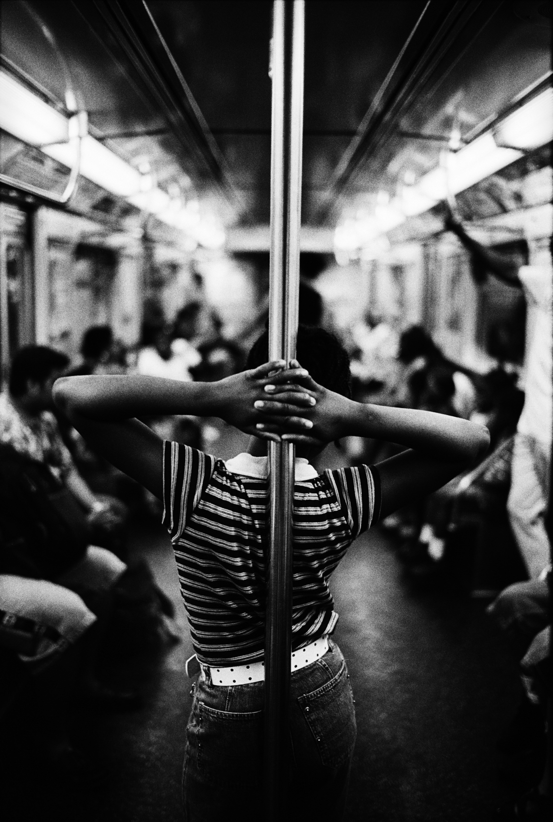 A-Train, Harlem, New York City, 2003 (from Dear New Yorker)