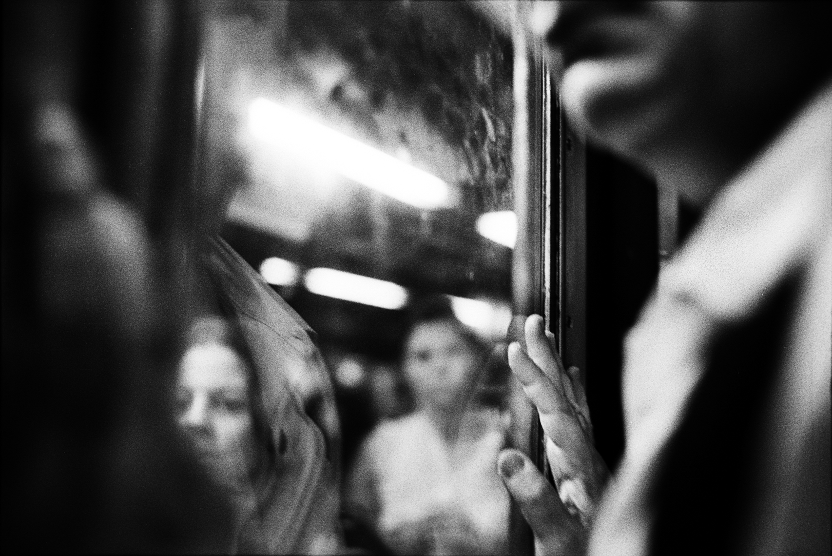 3-Train, Upper West, New York City, 2009 (from Dear New Yorker)